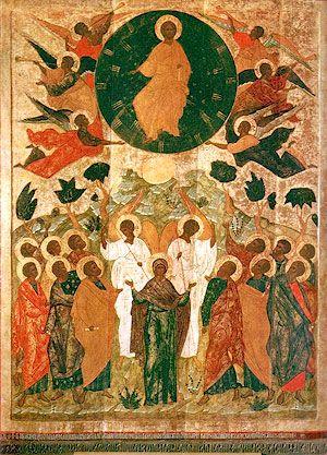 """От всей души поздравляю всех православных христиан с Праздником """"Вознесение Господне"""" http://foma.ru/voznesenie-na-kakoe-nebo-voznessya-hristos.html"""