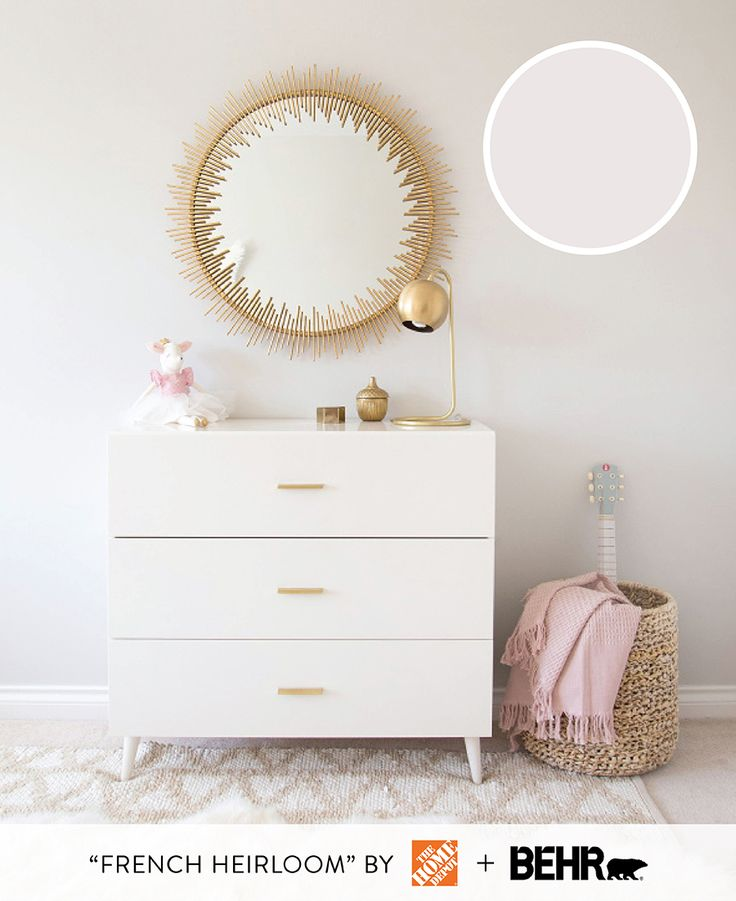 This creamy neutral shade is perfect for a gender neutral nursery Photography : Melissa Barling Read More on SMP: http://www.stylemepretty.com/living/2016/08/29/5-of-the-sweetest-nursery-paint-colors-that-arent-pink-or-blue/