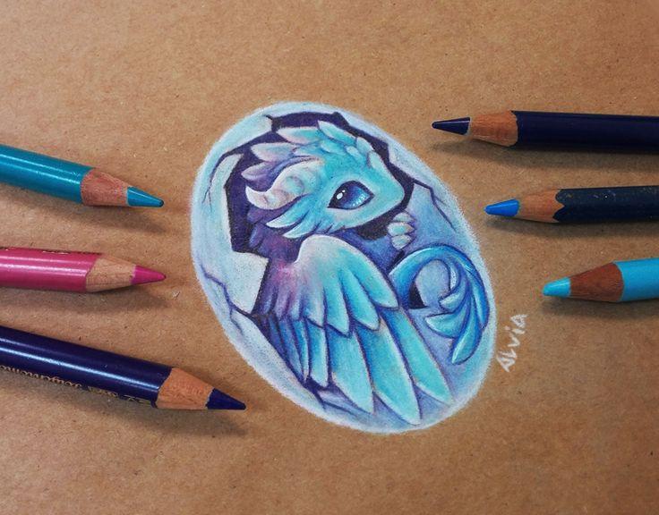 Air baby dragon by AlviaAlcedo.deviantart.com on @DeviantArt