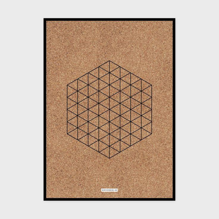Kork 7 - plakat fra bentzenberg.dk Cork Poster