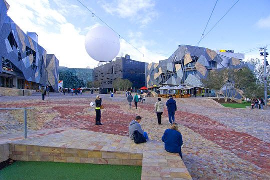 Federation Square http://thingstodo.viator.com/melbourne/federation-square/