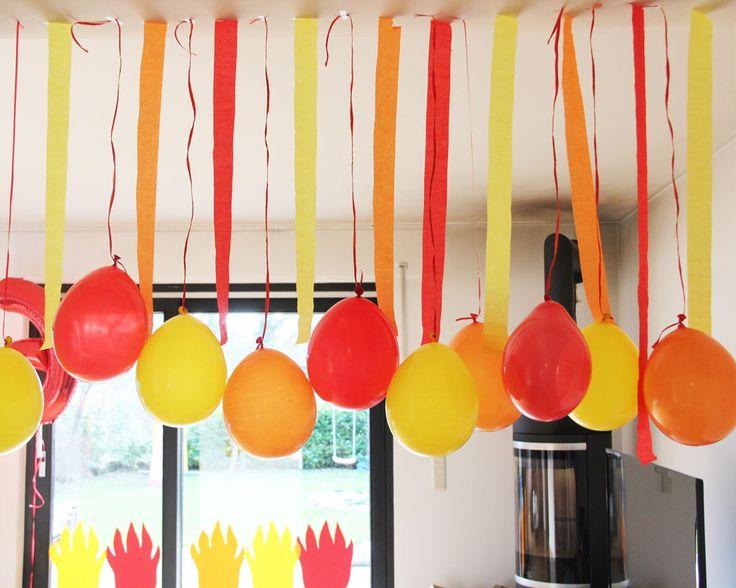Feuerwehr Geburtstag Luftballons. www.limmaland.com