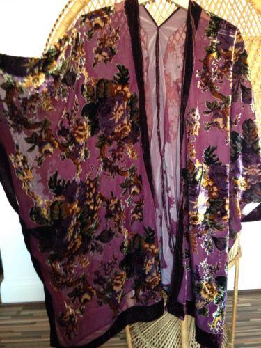 Kimono Jacket,Devore jacket,Burnout kimono,duster jacket ...