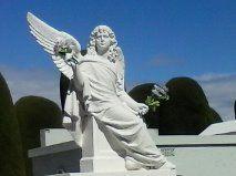 Ángel del Cementerio de Punta Arenas