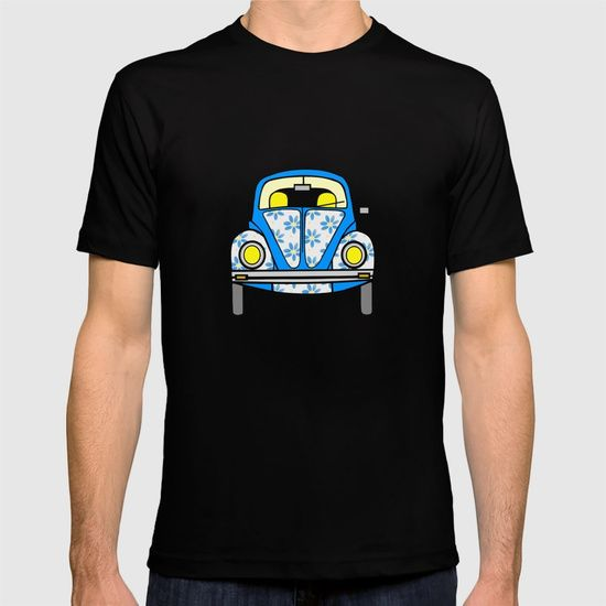 Cute And Compact by Sartoris ART #teeshirt #vw #volkswagen #beetle #vwbeetle #sixties #retro #print #musicart #psychadelic #pop #popart #popculture #style #fashionista
