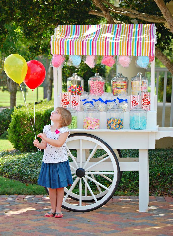 a circus soirée! www.maryhadalittleparty.com
