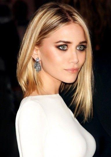 Smoky eyes for green eyes \ Ashley Mary Kate Olsen