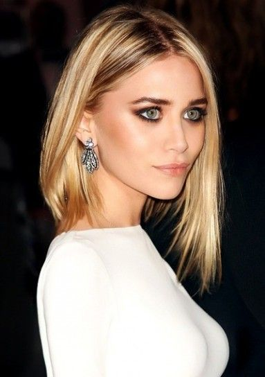Smoky eyes for green eyes \ Ashley Mary Kate Olsen