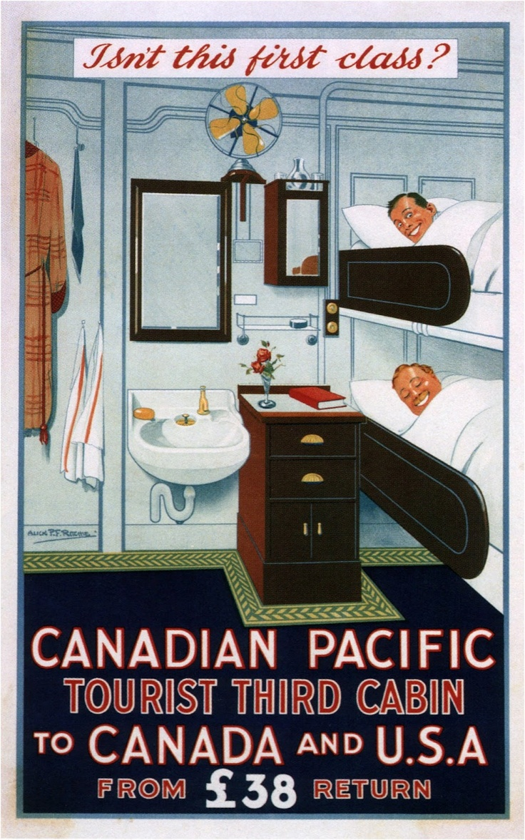 """""""CANADIAN PACIFIC"""" Travel Poster"""