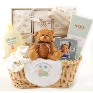11 best gift baskets images on pinterest baby gifts baby girl your wholesale dropship source new arrival baby gift basket neutral negle Images