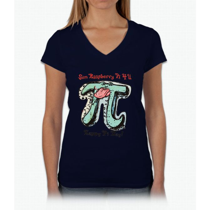 Sum Raspberry Pi 4 U Womens V Neck T Shirt Products Pinterest
