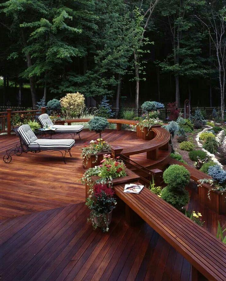 Terrace / garden / beautiful / amazing / nice / relax / slience