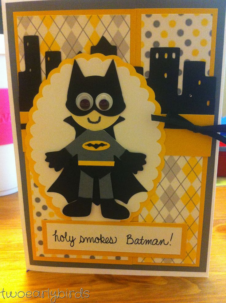 Two Early Birds: A Superhero Get-Well Cards
