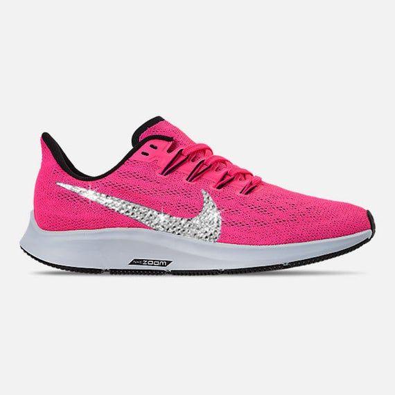 Swarovski Women's Nike Air Zoom Pegasus 36 Fuchsia Pink