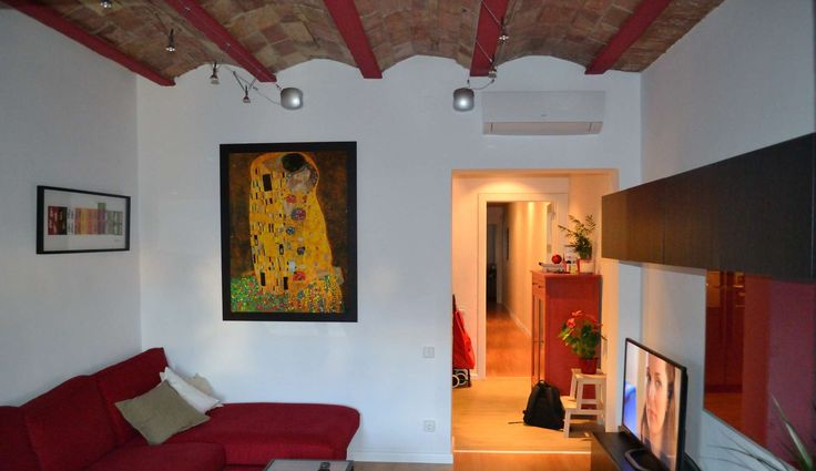 Ideas de #Decoracion de #Sala de la TV, estilo #Contemporaneo diseñado por J. ABARCA, ARQUITECTO TECNICO E INTERIORISTA Arquitecto Técnico con #Sofas #Muebles de TV  #CajonDeIdeas