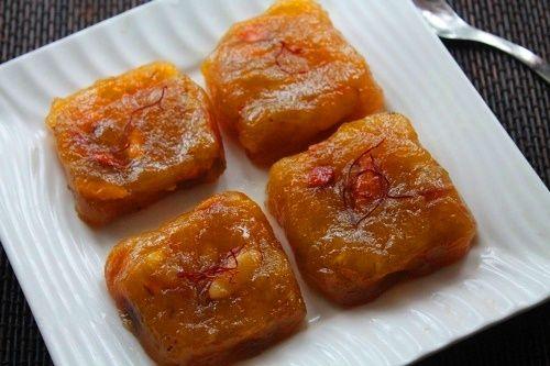 Kerala Banana Halwa Recipe / Nendran Banana Halwa Recipe
