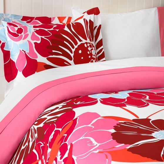 kensington floral duvet cover sham pbteen