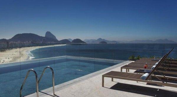 Miramar Hotel by Windsor  #Brazil #Brasilien #Rio #RioDeJaneiro #Terrace #Pool #View #Travel #Reisen #Urlaub #Opodo