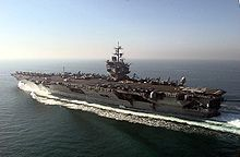 """USS Enterprise (CVN-65) is being decommissioned today.  """"Big E"""" spent some 25 years at NAS Alameda, CA."""