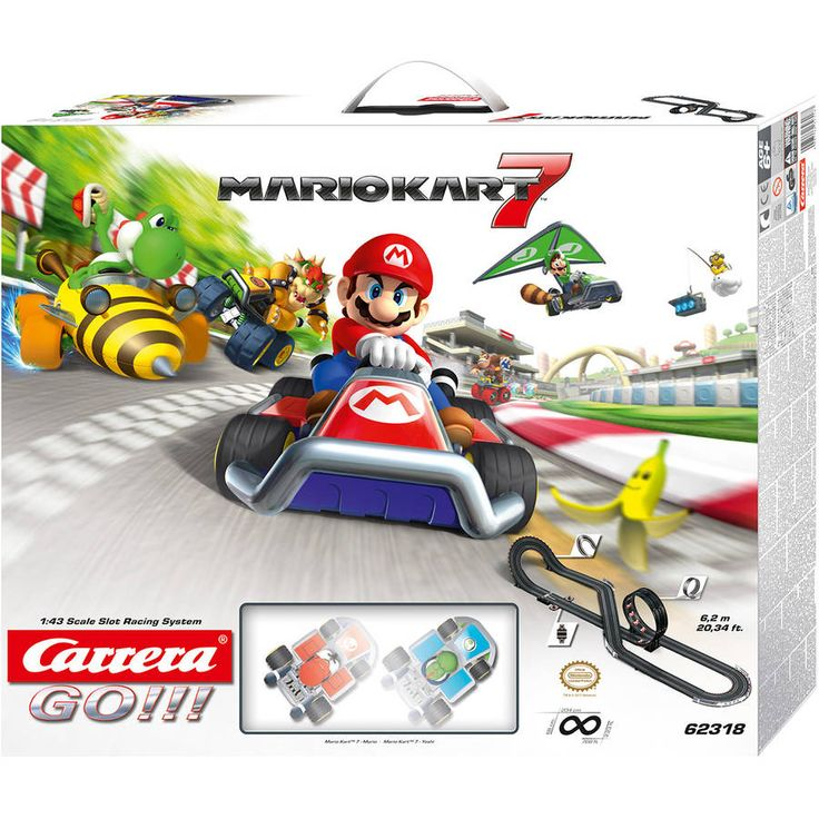 Carrera Mario Kart 7 Racing Set