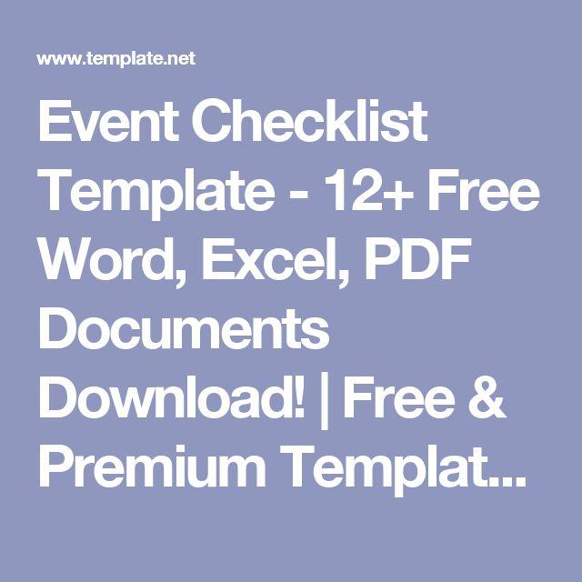 25+ beste ideeën over Checklist word, alleen op Pinterest - checklist format word