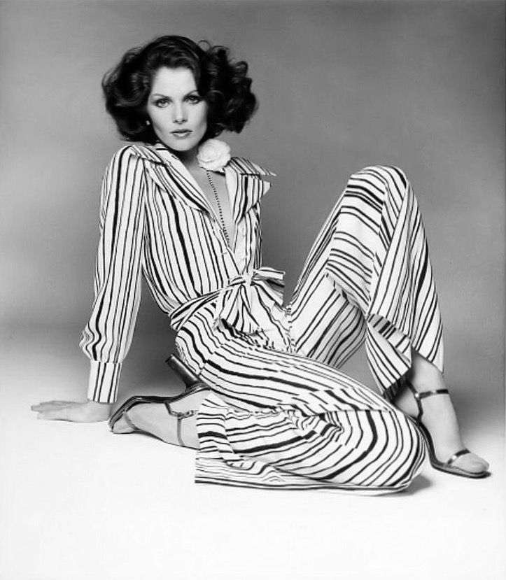Lois Chiles, photo by Francesco Scavullo, Vogue 1974 | flickr skorver1