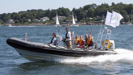 Rigid Inflatable Boat Adventure Tour @ Rigid Inflatable Boat (Boston, MA)    Did this a couple years ago, and it's awesome!  So much fun!