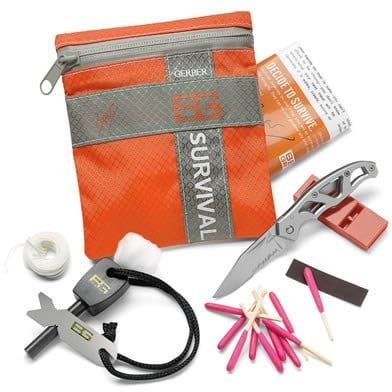 """Kit de survie """"Bear Grylls"""" - Un kit complet pour les situations extrêmes - 32 €"""