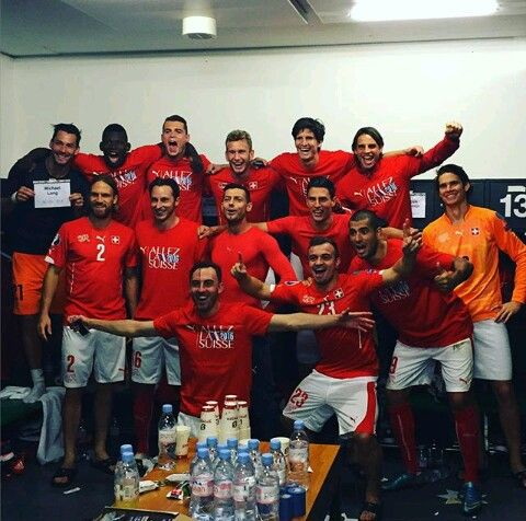 Swiss Football Team ⚽ calcification Euro 2016
