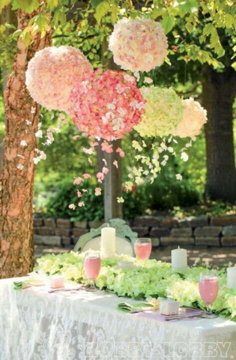 Beautiful for an outdoor dinner party