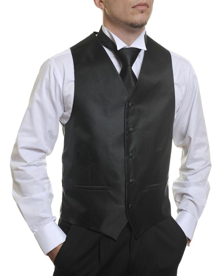 Black Stripe #Australia made #AU #Groom #Dinner #Vest #Fashion #Clothing #Beautiful #Wedding #Men #Accessories