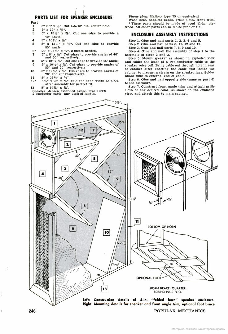 Skema box speaker woofer search results woodworking project ideas - Popular Mechanics