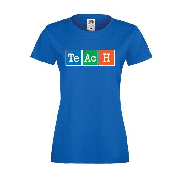 T-shirt de dag van de leraar   Teach   De dag van   vanSHIRTJEtotSHIRTJE
