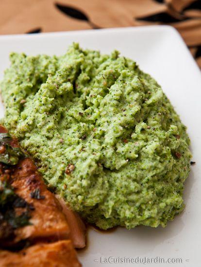 Purée de brocolis   http://www.lacuisinedujardin.com/recette/puree-de-brocolis