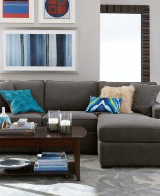 Macy S Radley Sectional In Mocha Living Room Pinterest Radley Sectional Living Rooms And Living Room Furniture Sets