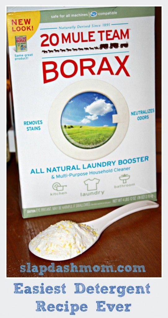 Easiest detergent recipe #DIY