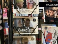 """Video: KKK hoods and Russian Flags """"For Sale"""" in Trump Tower Gift Shop"""
