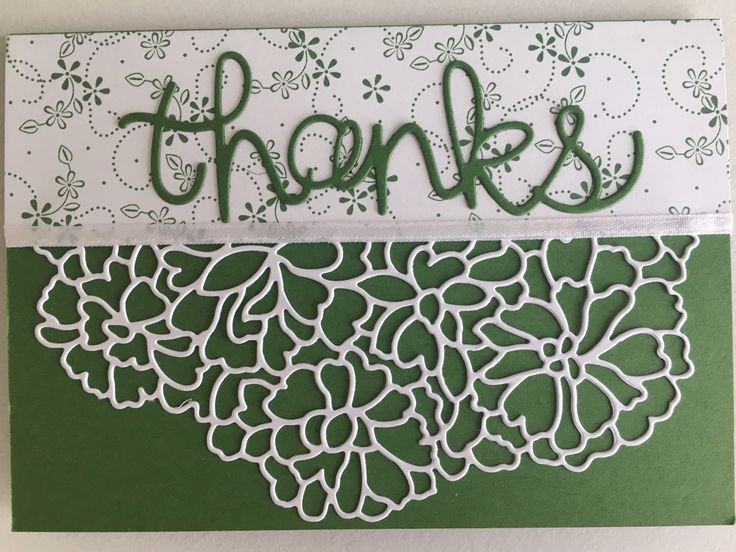 Made using So Detailed and Hello You thinlits from Stampin up