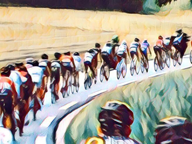 Working on bike race images  #ProsperityHabit
