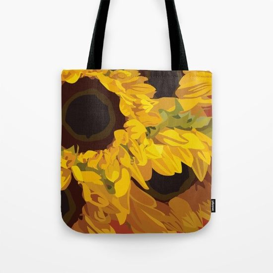 SUNFLOWERS [tote bag] by MESSYMISSY76