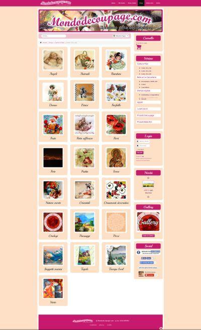 Mondodecoupage.com Carte di riso - Newweblab.net