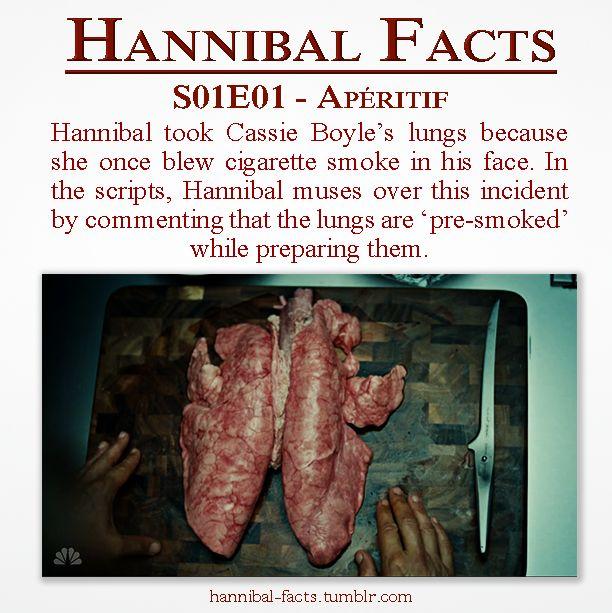 """Hannibal 01x01 """"Apéritif""""   Cassie Boyle's lungs"""