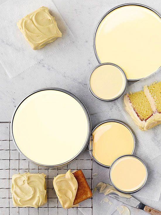 Buttercream Yellow Paint Colors