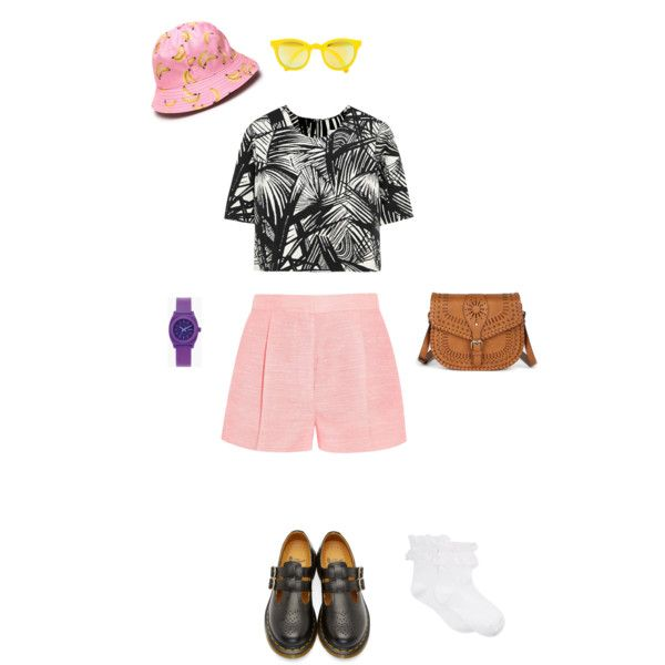 #6 by cici-munada on Polyvore featuring Elizabeth and James, STELLA McCARTNEY, Hue, Dr. Martens, Sole Society, Nixon and Sunpocket