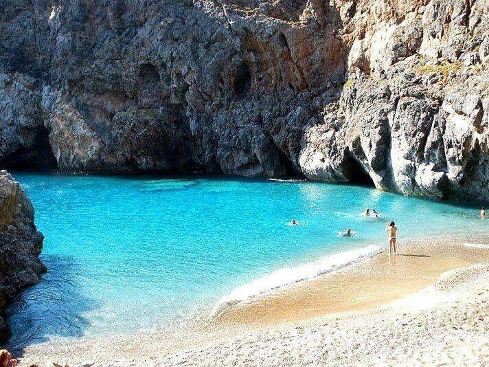 Greece Kythera island Kalami beach