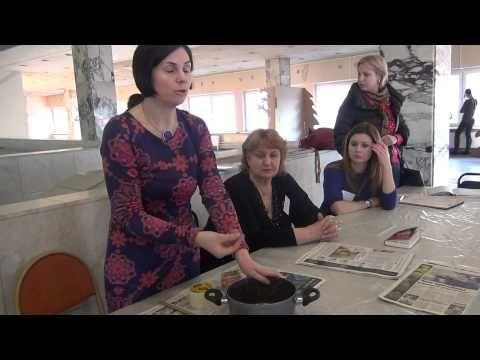(15) Как закреплять краски для ткани - YouTube