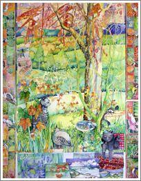 Deborah's Garden, Adelaide Hills - Janet Ayliffe