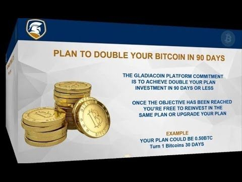 GLADIACOIN - Investment Detailed Presentation. Double your Bitcoin in 90...