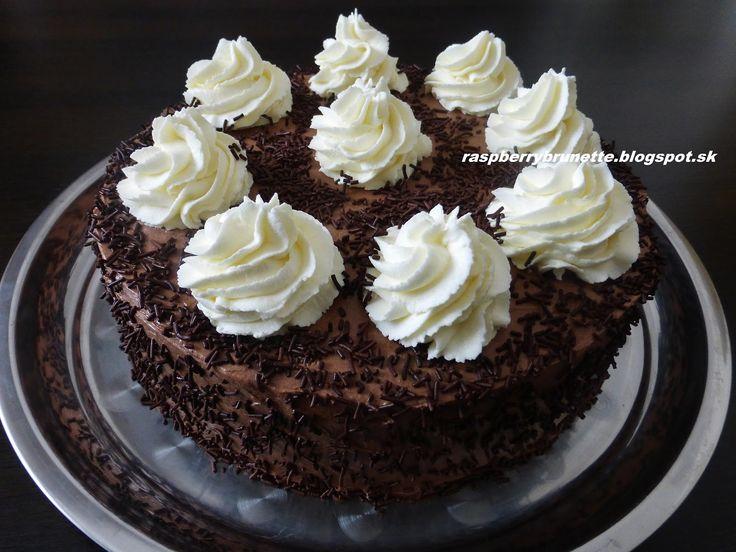 Raspberrybrunette: Čokoládovo-banánová torta    Úžasná torta s veľmi ...