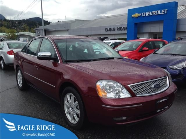 Used 2005 Ford Five Hundred Limited AWD V6 Auto w/ Leather for sale - Coquitlam - Eagle Ridge Chevrolet Buick GMC  http://eagleridgegm.com http://facebook.com/EagleRidgeGM http://twitter.com/eagleridgegm